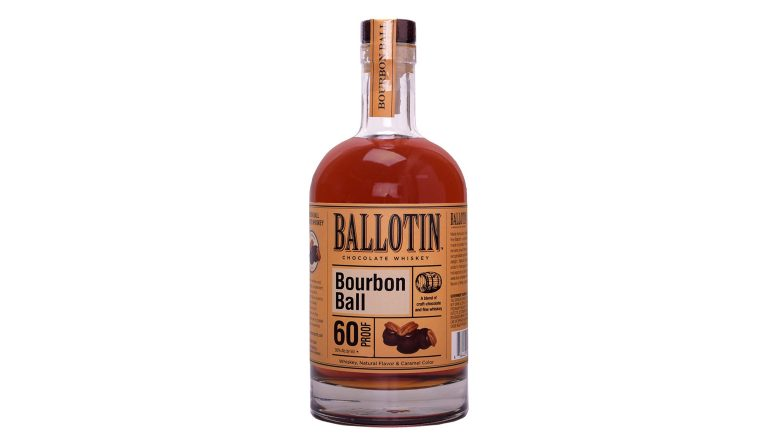 Ballotin Bourbon Ball bottle