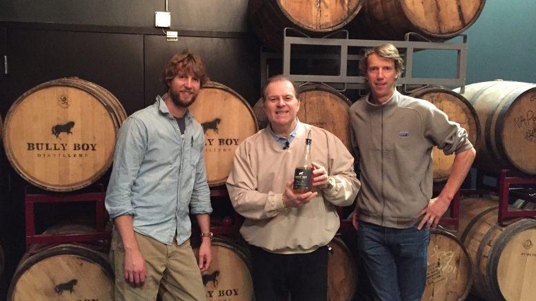 Cigar Dave visits Bully Boy Distillers in Boston, MA