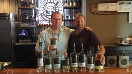 Cigar Dave at Southern Tier Distilling for Bourbon Heritage Month