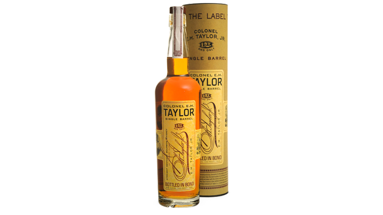 EH Taylor, Jr. Single Barrel bottle