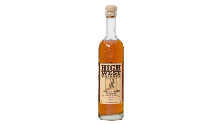 High West American Prairie Bourbon bottle