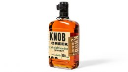 Knob Creek Kentucky Straight Bourbon Whiskey Small Batch 100 Proof bottle