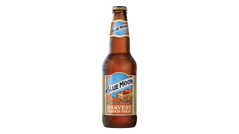 Blue Moon Harvest Pumpkin Wheat bottle