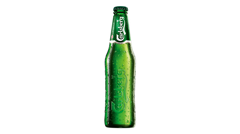 Carlsberg Pilsner bottle