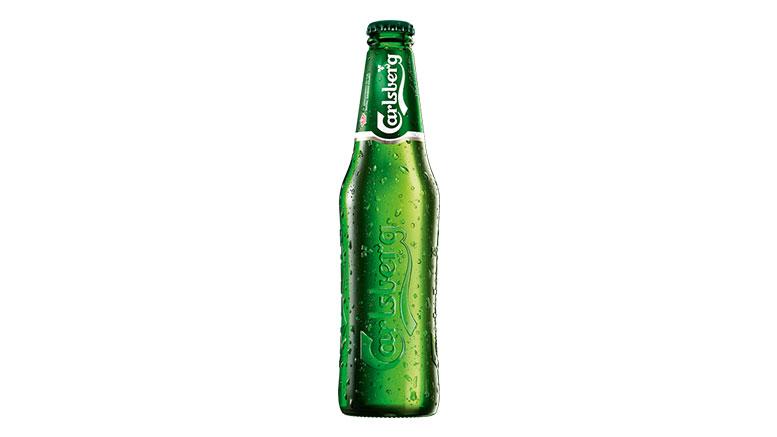Carlsberg Pilsner bottle