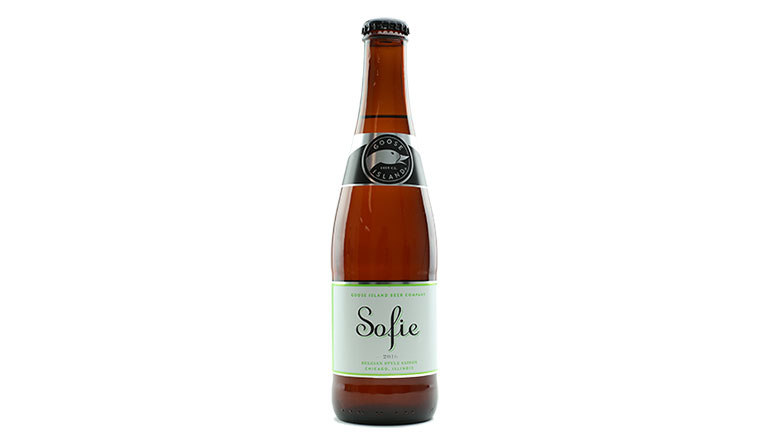 Goose Island Sofie bottle