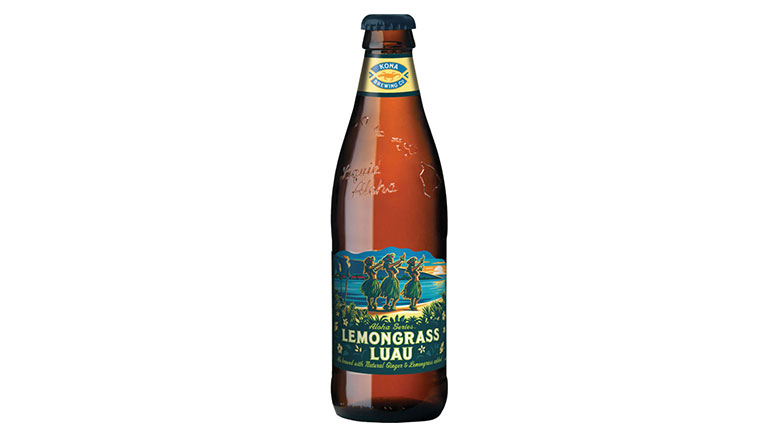 Kona Lemongrass Luau bottle