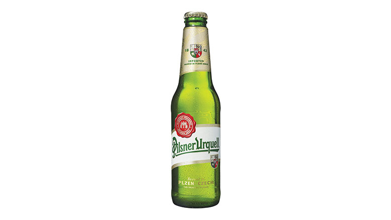 Pilsner Urquell bottle