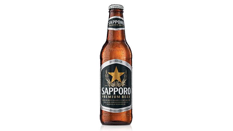 Sapporo Premium Beer bottle
