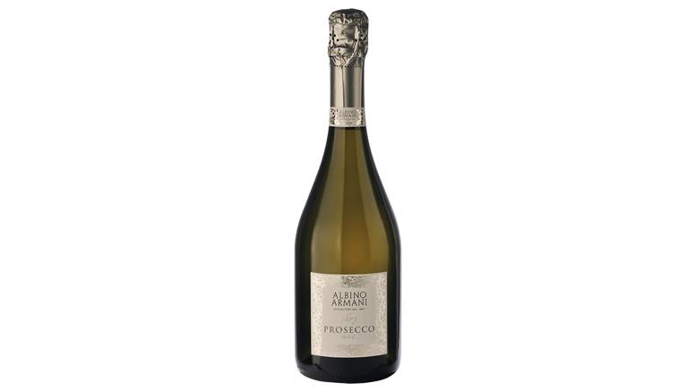 Armani Prosecco bottle