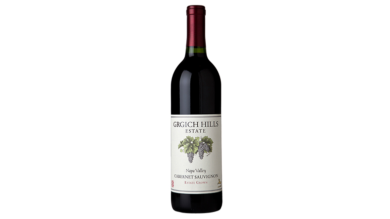 Grgich Hills 2014 Napa Valley Cabernet Sauvignon bottle