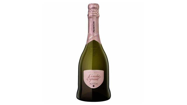 Bodega Norton Brut Rose bottle