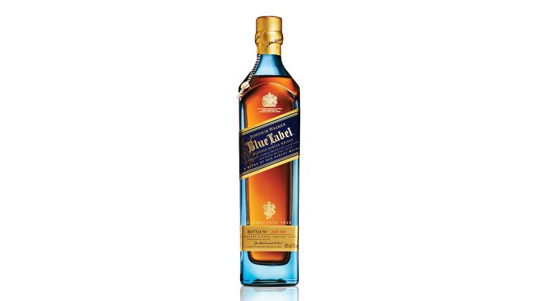 Johnnie Walker Blue Label bottle