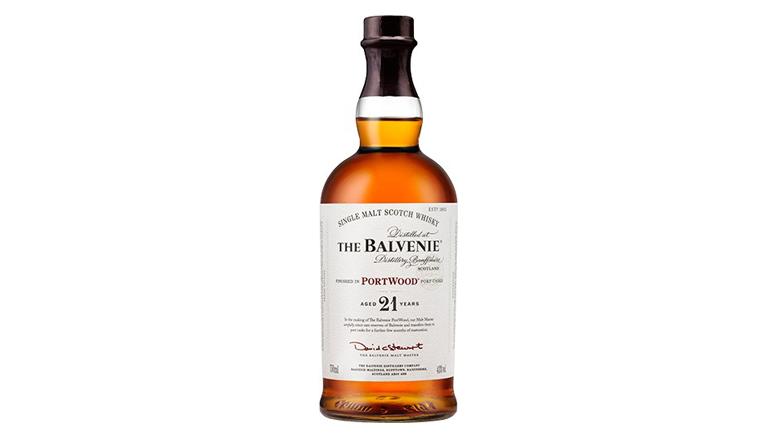 Balvenie Portwood 21 bottle