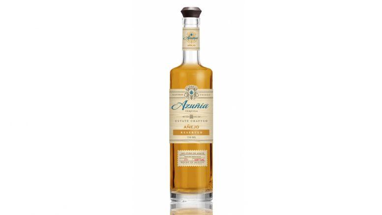 Azuñia Añejo Tequila bottle