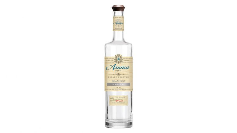 Azuñia Blanco Tequila bottle