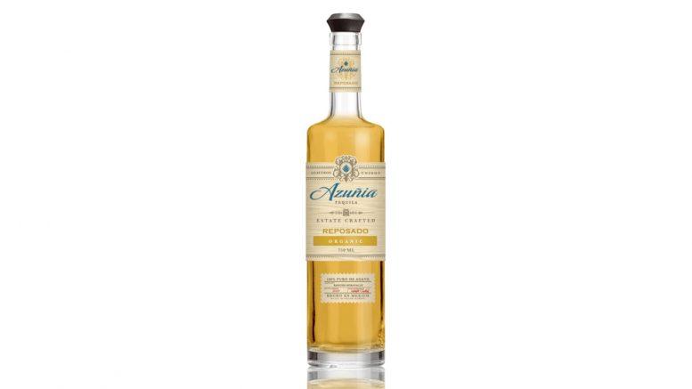Azuñia Reposado Tequila bottle