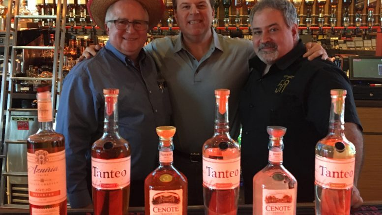 Cigar Dave, Sommelier Dave & Tommy D for Cinco de Mayo 2018 at Davidoff of Geneva Since 1911 in Tampa, FL