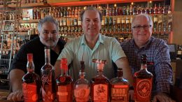 Cigar Dave, Tommy D, and Sommelier Dave at Davidoff of Geneva Since 1911 for Mega Bourbon Tasting Maneuvers