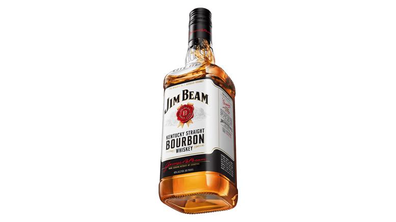 Jim Beam Kentucky Straight Bourbon bottle