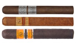 The Cigar Dave Officers Club selection for September 2018 is the Rocky Patel Acclaimed Sampler including the Fifteenth Anniversary, Vintage 2006 San Andres, and Royale