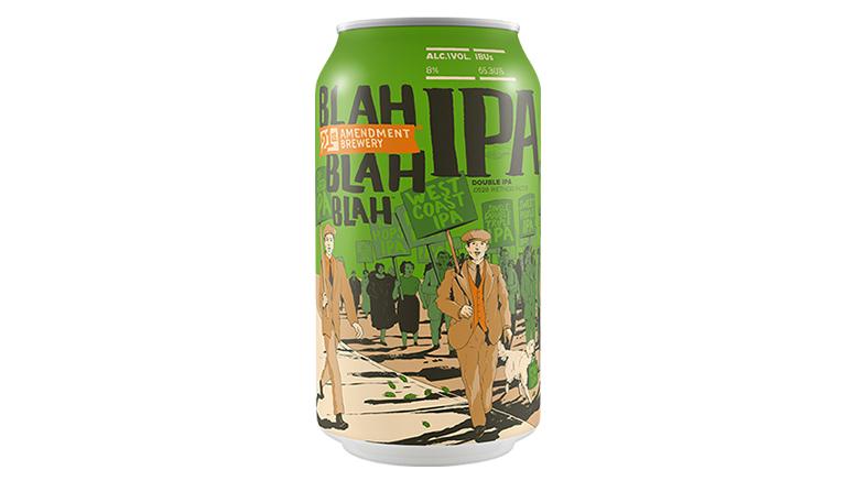 Blah Blah Blah IPA can from 21st Amendment Brewery
