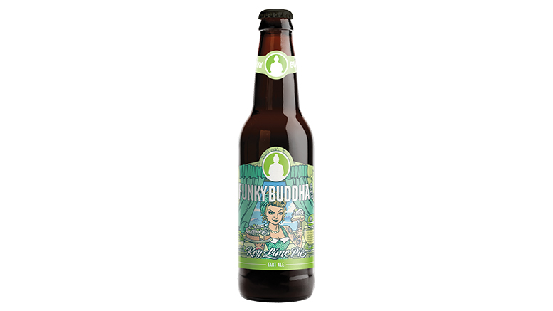 Key Lime Pie Tart Ale bottle from Funky Buddha Brewing