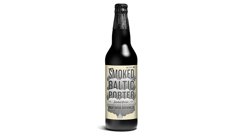 Smoked Baltic Porter bottle from Great Divide Brewery