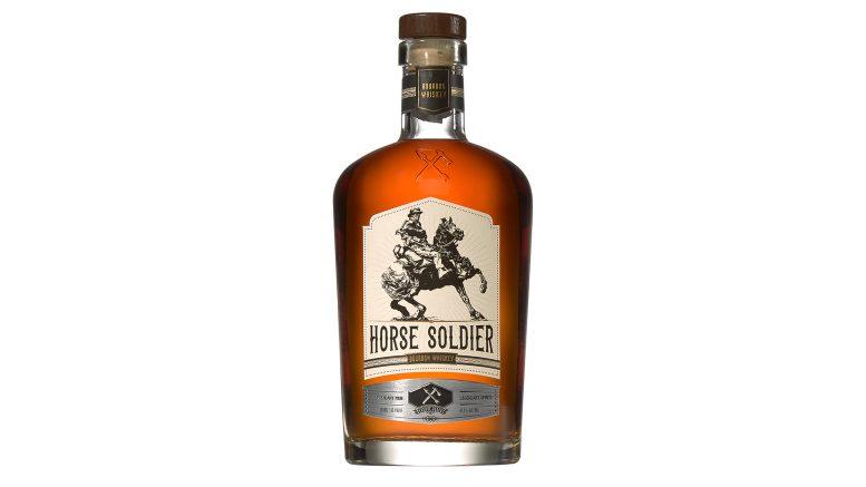 Horsde Soldier Bourbon Whiskey bottle from American Freedom Distillery