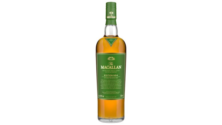 The Macallan Edition No. 4 bottle