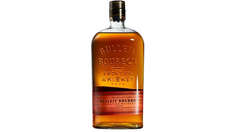 Bulleit Bourbon bottle