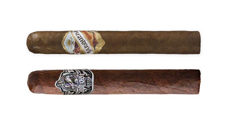 The Cigar Dave Officers Club selection for March 2019 is a Gurkha sampler including the Gurkha Ghost and the Gurkha Marquesa