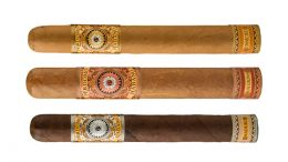 The Cigar Dave Officers Club Selection for May 2019 is a Perdomo Habano Reserve Barrel Aged Vertical Sampler including the Perdomo Habano Reserve Barrel-Aged Connecticut, Perdomo Habano Reserve Barrel-Aged Sungrown, and Perdomo Habano Reserve Barrel-Aged Maduro
