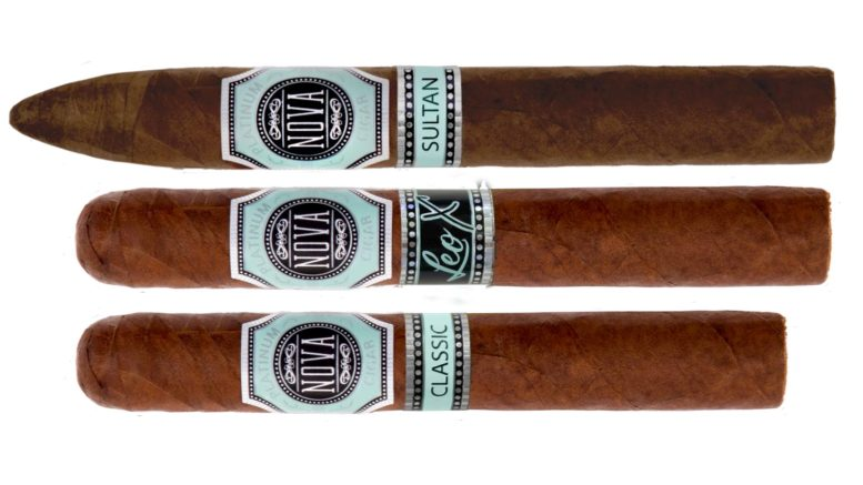 The Cigar Dave Officers Club Selection for August 2019 is the Nova Cigar Super Premium Sampler