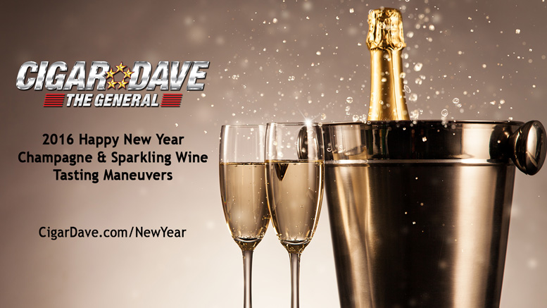 cigar daves 2016 happy new year champagne sparkling wine tasting maneuvers